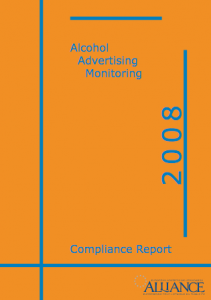 Marie-Helene Cussac as reviewer of the Alcohol Advertising Monitoring Report 2008
