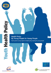 Marie-Helene Cussac writer of Youth Health Policy By Young People For Young People